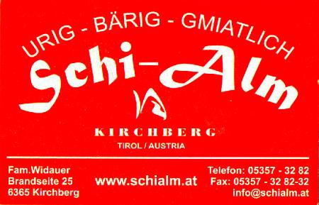 Après-Ski Restaurant Schialm